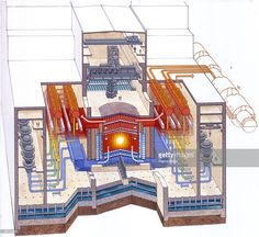 A diagram of the reactor at Chernobyl power plant, Artwork Get premium, high resolution news photos at Getty Images Chernobyl Reactor, Reactor Nuclear, Chernobyl 1986, Chernobyl Disaster, Chernobyl Nuclear Power Plant, Nuclear Energy, Nuclear Technology, Kratos God Of War, Nuclear Disasters