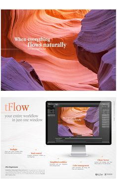 Logo design, installation pack design (packaging, usb and installation card) and design of user's manual for the tFlow Software.