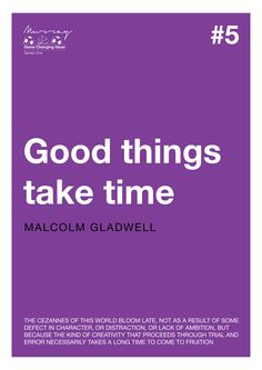 Game Changing Ideas #5 - Malcolm Gladwell by Murray Galbraith