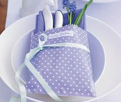 pretty polka dot bags