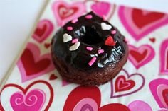 Kitchen Grrrls.: Chocolate Doughnuts for Your Valentine!