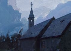 ArtStation - The Church, Jama Jurabaev