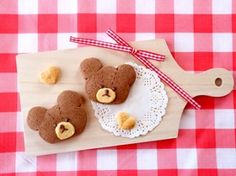 バレンタインに♡くまのがっこうクッキー by りおりんご♪ 【クックパッド】 簡単おいしいみんなのレシピが302万品