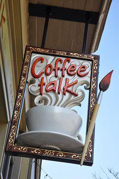 Coffee Talk Sign