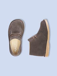 Boys Feutre Shoe by Jacadi in marron