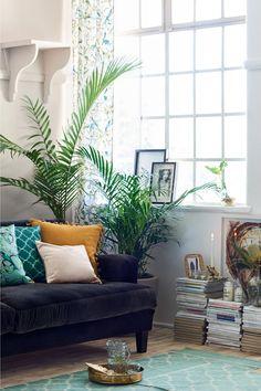 Lot de 2 rideaux à motif - Blanc/oiseaux - Home All   H&M FR