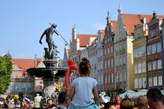 #lecebochce #tanielatanie #naweekend #trojmiasto #gdansk #fontanna #neptun