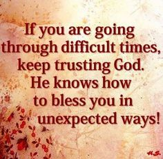 Unexpected blessings!