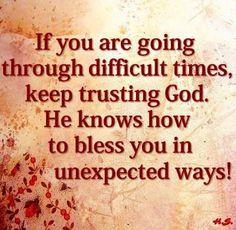 He sure does! Amen