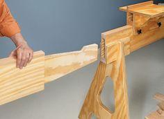 Woodworking Circular Saw Space-Saving Miter Saw Station