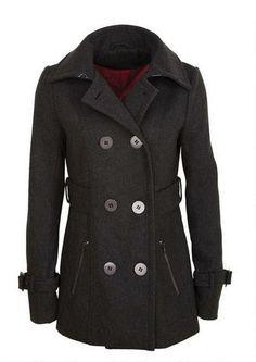 Zip Pocket Peacoat. Reminds me of the Sherlock coat