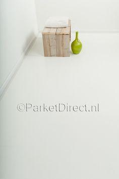 ParDi 8mm vlak laminaat Chalk white Get On The Floor, Kidsroom, Place Cards, Place Card Holders, Flooring, Living Room, House, Flat, Bedroom Kids