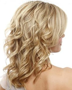 Hair's Tips Care: 10 Perfect Hairstyles for Thin Hair curly hair
