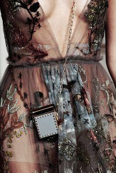 fashion elegance luxury beauty — runwayandbeauty: Detail at Valentino...