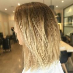 Like this gradual, balayage ombre