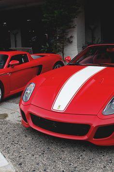 Ferrari 599GTO & Porsche Carrera GT