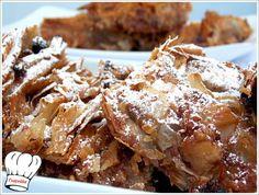 ΜΗΛΟΠΙΤΑ ΠΛΙΣΕ ΜΕ ΣΑΛΤΣΑ ΜΗΛΟΥ ΝΗΣΤΙΣΙΜΗ!!! | Νόστιμες Συνταγές της Γωγώς Greek Beauty, Apple Pie, Waffles, Food And Drink, Chicken, Meat, Cooking, Breakfast, Desserts