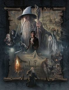 Find images and videos about the hobbit, gandalf and tolkien on We Heart It - the app to get lost in what you love. Hobbit Art, Special Pictures, Illustration, Painting, Lord, Art, Canvas Giclee, Lord Of The Rings, Movie Art