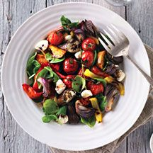 WeightWatchers.com.au: Weight Watchers recipe - Roasted summer vegetable salad