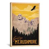 Found it at Wayfair - 'Mt. Rushmore' by Anderson Design Group collection Vintage Advertisement on Canvas