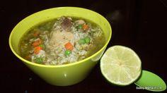 Foods My Abuelita Taught Me- Aguadito de Pollo (Peruvian Chicken Soup)