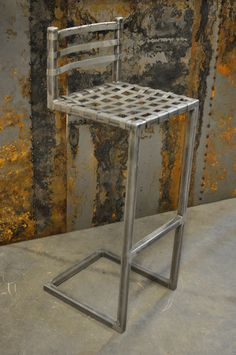 Cantilever Bar Stool- Metal
