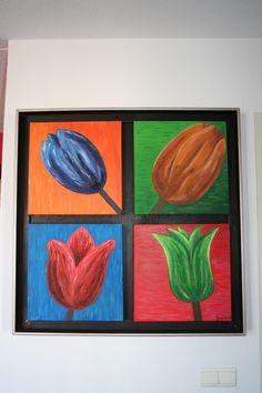 Tulpen | Acrylverf | 2008