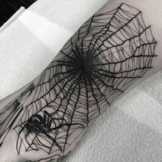 35 Innovative Spider Web Tattoo Ideas-Insightful and Highly Cultivated Totems