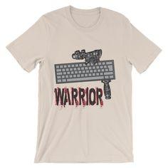 Keyboard warrior (short sleeve t-shirt)