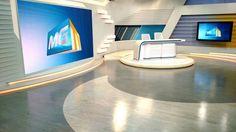 Novo cenário MGTV e Bom Dia Minas da Rede Globo, projeto da Objeto Design.