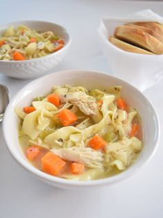 """Ever wonder why for centuries chicken noodle soup has been hailed as the soup of choice when you are sick? Because when it's made from real chicken stock it has amazing healing properties. In the cookbook Nourishing Traditions by Sally Fallon, she shares this quote, """"Why is chicken soup superior to all things we...Read More »"""