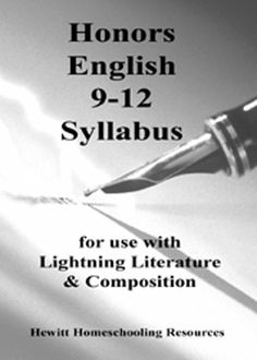 This syllabus was written for students enrolled in Hewitt's high school program, but can be helpful to parents working independently with students. High School Programs, Normal School, Teacher Boards, World Literature, High School English, Positive Reinforcement, Home Schooling, Social Skills, Fun Learning