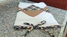 Pano de prato em tecido de algodão, aplicações em tecido de algodão com ponto decorativo. Pedido mínimo 10 panos de prato. Ver mostruário de cores