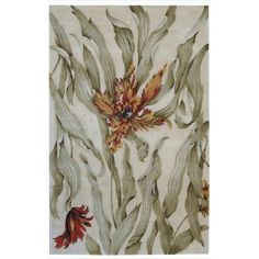 Nourison Hand-Tufted Tropical Ivory Rug