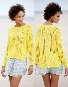 Revista mujer Casual 77 Primavera / Verano | 19: Mujer Jersey | Amarillo