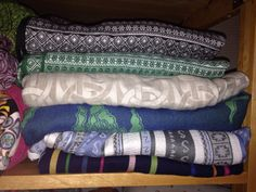 Reduced stash before new additions arrive