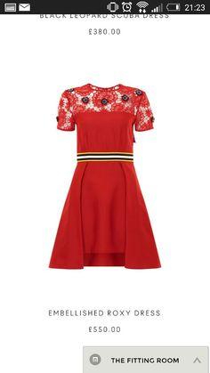 House of Holland embellished Roxy dress