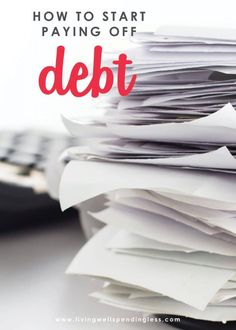 Check out these tips for learning how to start paying off debt and eliminate the money stress from your life once and for all! Debt Payoff, Debt Free, Personal Finance, Scary, Budgeting, Investing, How To Become, Track, Organization