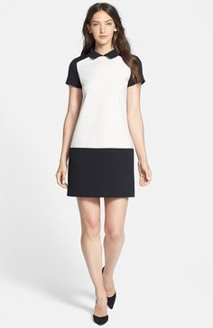 kate spade new york colorblock shift dress available at #Nordstrom