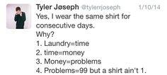 josh dun tweet   josh dun tweets   Tumblr