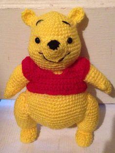 10 Winnie the Pooh Inspired Amigurumi by SDeloshArt on Etsy
