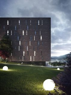 Apartment complex on Behance