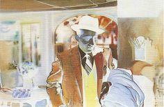 Reproduction tableau de Hamilton, I'm Dreaming Of A White Christmas, Richard Hamilton Artist, Pop Art, James Rosenquist, Claes Oldenburg, Jasper Johns, Roy Lichtenstein, David Hockney, Andy Warhol, White Christmas