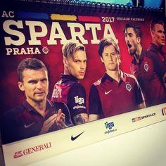 AC Sparta Praha, kalendář 2017.