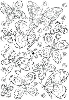 Fresh Coloring Pages Bliss For You – Coloring Pages For Free – A World of Colour - Malvorlagen Mandala Butterfly Coloring Page, Mandala Coloring Pages, Coloring Pages To Print, Free Coloring Pages, Coloring Sheets, Coloring Books, Pattern Coloring Pages, Free Adult Coloring, Printable Adult Coloring Pages