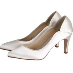 97ebbf1dde7 A classically elegant dyeable bridal court shoe with curvy overlays. Did  you know you can have these shoes hand dyed to any shade  Perfect for any  wedding!