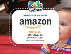 Todos los productos de #KidsColors ya está disponibles en #Amazon  www.kidscolors.com  (449) 916.2626