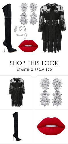 """""""Seulgi"""" by fluffyoks on Polyvore featuring мода, Elie Saab и Lime Crime"""