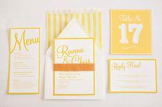 beautiful letterpress stationery by Artcadia