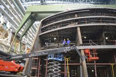 Visit to Meyer Werft Papenburg,  Royal Caribbean's Quantum of the Seas